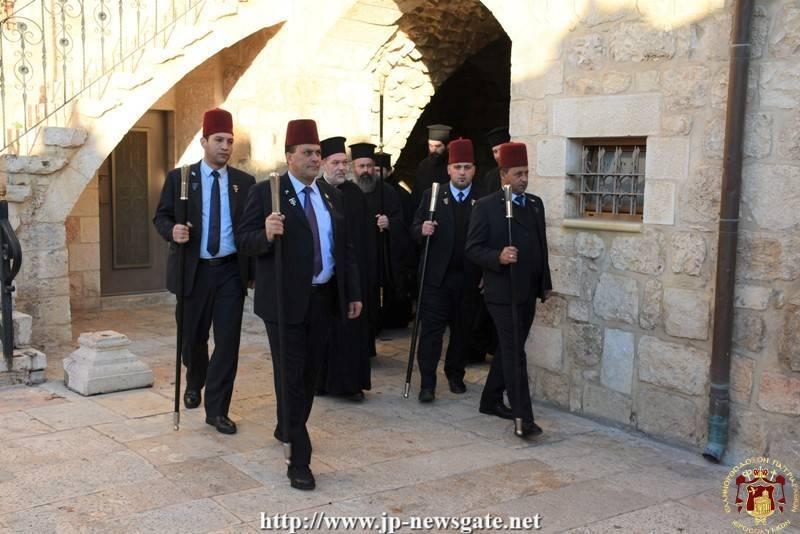 01عيد جامع لوالدة الإله في البطريركية