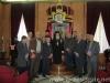 المجلس وراعي طائفة الروم الارثودكس في ابو سنان يزورون بطريركية الروم الارثوذكسية