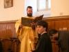 الاحتفال بتذكار القديسين الاجلاء معلمي المسكونه باسيليوس العظيم وغريغوريوس الثيولوغس( اللاهوتي) ويوحنا الذهبي الفم.