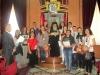مجموعة من الطلاب المتفوقين يزورون بطريركية الروم الاثوذكسية