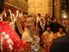 صاحب الغبطة مع لفيف من الكهنة في قداس ليلة القيامة