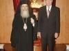 غبطة البطريرك والقنصل الانجليزي في اسرائيل