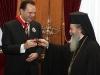 صورة تذكارية لغبطة البطريرك ووزير الخارجية اليوناني