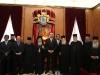 صورة تذكارية للوفد الدبلوماسي في البطريركية