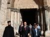 الوزير والوفد متوجهون الى كنيسة القيامة