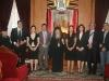 غبطة البطريرك, الوزيرة والوفد الدبلوماسي