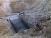 ترميم الجسر الذي في الطريق المؤدي إلى وادي قلط من الجيش الإسرائيلي.