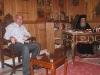 غبطة البطريرك ووزير التنمية الإقليمية والبنية التحتية الجورجي