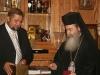 رئيس محكمه العليا في سلوفاكيا السيد ستيفان هارابين يهدي غبطة البطريرك ميدالية تذكارية