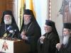 رئيس اساقفة قبرص ينص اعلان الذي يحتوي على النتائج التي وصلوا اليها في الاجتماع