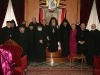 صورة تذكاريه لرؤساء الكنائس بعد الاجتماع