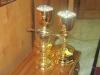الكؤوس المطلية بالذهب هدية الاسقف تيخون