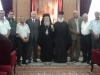 غبطة البطريرك ووكلاء طائفة الروم الارثوذكس في الجديدة
