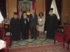 القنصل الامريكي العام في اورشليم يزور البطريركية الارثوذكسية