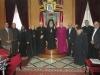 لجنة شئون اللاجئين الفلسطينيين تقابل رؤساء الكنائس في البطريركية الأورشليمية.