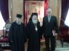 غبطة البطريرك السفير الروسي الجديد ورئيس اساقفة قسطنطيني اريسترخوس