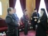 الوزيرة القبرصية في البطريركية الارثوذكسية