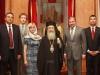 وزير الحالات الطارئة الاوكراني يزور البطريركية الارثوذكسية