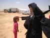 غبطة بطريرك المدينة المقدسة كيريوس كيريوس ثيوفيلوس الثالث يزور مخيم اللاجئون السوريون في الأردن