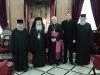 القاصد ألرسولي في القدس يزور بطريركية الروم الأرثوذكسية
