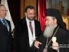 وفد من اللجنــة اليهوديــة الأمريكيـة  في بطريركية الروم الأرثوذكسية