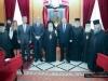 نائب رئيس الوزراء اليوناني يزور بطريركية الروم الارثوذكسية