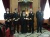 وفد من البحرية اليونانية في بطريركية الروم الارثوذكسية