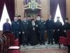 ممثلون عن القوة الجوية اليونانية في بطريركية الروم الارثوذكسية
