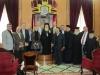 ممثلة القنصلية الايطالية في القدس وغبطة البطريرك واعظاء من طائفة كفرياسيف