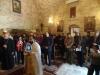 غبطة البطريرك في كنيسة شفاء البرص العشرة ببرقين