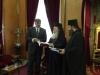 السفير اليوناني الجديد في إسرائيل يزور بطريركية الروم الارثوذكسية