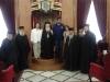 زوجة رئيس الوزراء الأردني في بطريركية الروم الأرثوذكسية