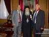 سفير إسرائيل في جمهورية الدومينيكان وجزر الكاريبي السيد بهيج منصور في بطريركية الروم الارثوذكسية