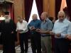 وفد من طائفة الروم الارثوذكسية من بيت لحم في البطريركية الاورشليمية