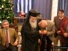 تقسيم كعكة راس السنة - الباسيلوبيتا في مقر الجالية اليونانية في اورشليم