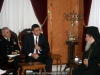 وزير الامن الداخلي اليوناني يزور بطريركية الروم الاورثوذكس المقدسيه