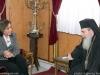 السيدة دورا باكويانيس تزور بطريركية الروم الارثوذكسية