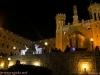 غبطة بطريرك المدينة المقدسة كيريوس كيريوس ثيوفيلوس الثالث يضيء شجرة الميلاد في البلدة القديمة في القدس