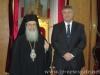 سفير بريطانيا العظمى في اورشليم يزور بطريركية الروم الارثوذكسية