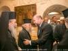 مسؤولون من السلطة الفلسطينية في الدير في بيت لحم