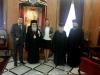 السفير الصربي في اسرائيل يزور بطريركية الروم الارثوذكسية