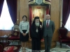 السفير الجورجي الجديد في اسرائيل يزور بطريركية الروم الارثوذكسية