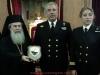 ممثلون من البحرية اليونانية يزورون بطريركية الروم الارثوذكسية