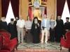 """02رئيس الجمعية الخيرية الروسية """"ميشين""""  يزور البطريركية الاورشليمية"""