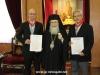 06غبطة البطريرك يُكرم السيد فرانك فيجينبوم والسيد ماريوس باباذوبولوس