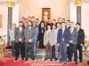 04مجموعة من طلاب جامعة اللاهوت في صربيا تزور البطريركية