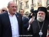 01رئيس جمهورية جورجيا يزور البطريركية