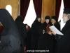 06مجموعة من راهبات القديس غريغوريوس بالاماس تزور البطريركية