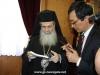 04ممثلية عن المجلس الوطني لكنائس كوريا تزور البطريركية الاورشليمية