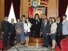 09ممثلية عن المجلس الوطني لكنائس كوريا تزور البطريركية الاورشليمية